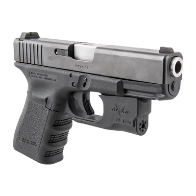 Reactor 5 Green Weapon Lasers - Glock® 26/27 Reactor 5 Green Laser With Hybrid Holster